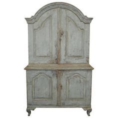 18th Century Rococo Swedish Cupboard | From a unique collection of antique and modern cupboards at https://www.1stdibs.com/furniture/storage-case-pieces/cupboards/