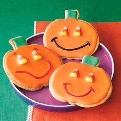 Halloween recipe: Jack-O'-Lantern Sugar Cookies