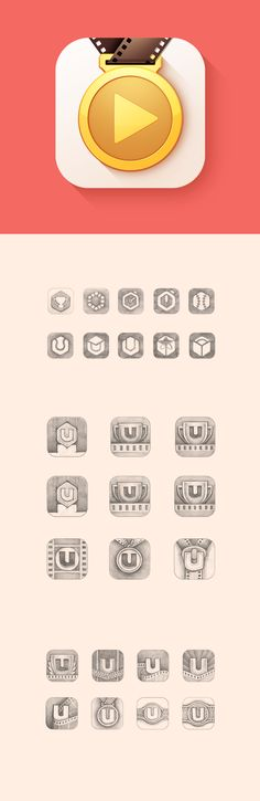Coaching App Icon Design by Ramotion #icon #icondesign #appdesign #flatdesign #iOS8 #app #application #coach #appicon #ramotion ramotion.com #dribbble #behance #sketch #art
