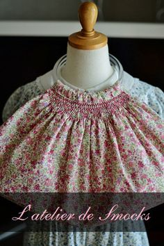 スモッキング刺繍の小さなグラニーバッグ♪ の画像|スモッキング・コルベイユ Smocking Corbeille