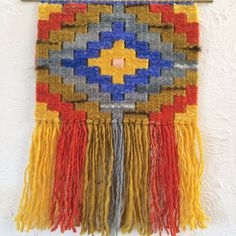 Handspun Handwoven wall hanging