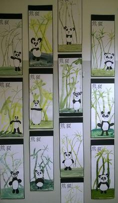 Foreground middle ground and background grade maybe – Artofit Classroom Art Projects, School Art Projects, Art Classroom, New Year Art, 2nd Grade Art, Panda Art, Ecole Art, Kindergarten Art, Spring Art