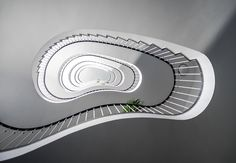 spiral staircase_architecture in Berlin_Nancy Da Campo Staircase Architecture, Staircase Design, Spiral Staircase Plan, Free Base, Stairways, Trip Planning, Shapes, How To Plan, Photography