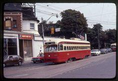 TTC Toronto original rail slide PCC # 4324 taken 1982