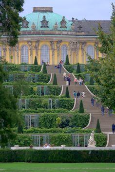 Sans-souci castle, Potsdam, Germany