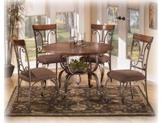 Dining Room Table Plentywood Brown Bellagio Furniture Store Houston Texas    www.BellagioFurniture.com    Complete your bedroom with affordable and stylish Bedroom Furniture from Ashley Furniture HomeStore. Enjoy Free Shipping on many items!