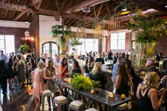 Hosted by: Partyslate  Photographer: Brian Leahy Photography  Venue: At The P  Decor/Design: Rrivre Works  Caterer: Good Gracious! Events  Decor/Florist: Shawna Yamamoto Event Design  Beverages: Scarlette Bartending  Entertainment (Bands): Luxury Entertainment Group  Lighting Design: Luxury Entertainment Group   Event Partner: Mindy Weiss Party Consultants  Rentals: Signature Event Rentals  Videographer: Hoo Films  Photo Booth: SocialLight Photos  Blush Up Station: Blushington  Cappuccino…