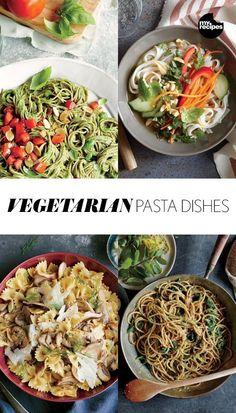 Vegetarian Pasta Dishes | MyRecipes.com