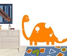 Vinyl Wall Decal Sticker Kid Friendly Dinosaur #MM135