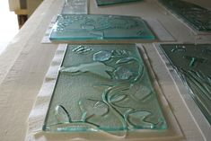 91 best Fused Glass - Kiln Carving images on Pinterest | Fused glass, Stained glass and Glass art