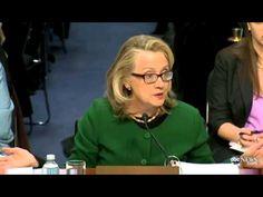 Secretary of State Hilary Clinton at Benghazi Hearing