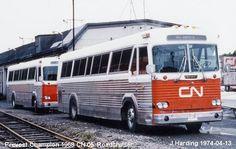 C Amp J Bus Lines Prevost Trolleys Etc Pinterest