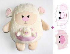 Coming Soon by kullaloo on Etsy, Sewing Toys, Sewing Crafts, Bunny And Bear, Unicorn Cat, Super Cute Animals, Felt Brooch, Crochet Bunny, Baby Store, Gifts For New Moms