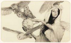 Karla Ortiz - Artwork - Mensajeros - Nucleus | Art Gallery and Store