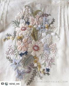 @rairai_ws #needlework #handembroidery #bordado #broderie #embroidery #ricamo