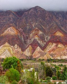 "Argentina  Jujuy. En la Quebrada de Humahuaca importante enclave de la precordillera andina se encuentra ""La paleta del pintor"". Una formación ortográfica multicolor declarada Patrimonio de la Humanidad por la Unesco. 2004. // Argentina Jujuy. In the Quebrada de Humahuaca an important enclave in the Andean foothills is ""the painter's palette."" Forming a multicolored spell declared a World Heritage Site by Unesco. 2004.  #traveler #girl #travel #traveling #vacation #visiting #instatravel…"