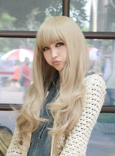 X&Y ANGEL New Women Long Full Natural Wavy Heat Resistant Hair Blonde Wig Wigs AQ037  //Price: $ & FREE Shipping //     #hair #curles #style #haircare #shampoo #makeup #elixir