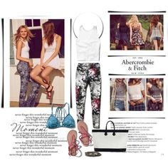The A&F Summer Getaway Giveaway: Contest Entry by nahed-samer on Polyvore featuring moda, Abercrombie & Fitch, Zimmermann, Balmain and abercrombie