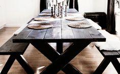 Så bygger du ett eget matbord