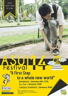 ASUI FESTIVAL 14 TRY OUT & ROADSHOW