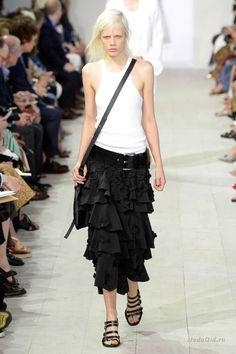 Женская мода: Michael Kors, весна-лето 2016