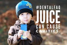 Juice contains a lot of sugar! An 8 oz serving of juicy juice contains 26 grams of sugar, nearly as much as a soda. Kids Dentist, Dental Kids, Pediatric Dentist, Dental Group, Oral Health, Dental Health, Dental Care, Sugar Detox Cleanse, Kool Kids