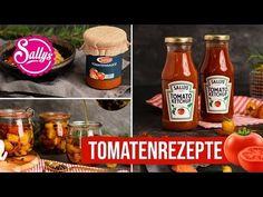 Heute habe ich zuckerfreies Tomatenketchup hergestellt. Statt dem normalen Haushaltszucker habe ich Aepfel verwendet, um dem Tomat Hot Sauce Bottles, Salsa, Antipasti Teller, Grilling, Bbq, Diys, Apple, Make It Yourself, Food