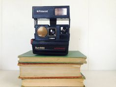 TESTED Working Vintage Polaroid Camera  by AmericanProspecting, $54.00