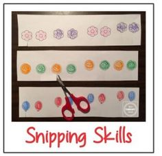 OT Activity of the Week: Scissor Snipping Freebie-repinned by @PediaStaff – Please Visit ht.ly/63sNtfor all our pediatric therapy pins