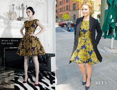 love the dress! Alice + Olivia