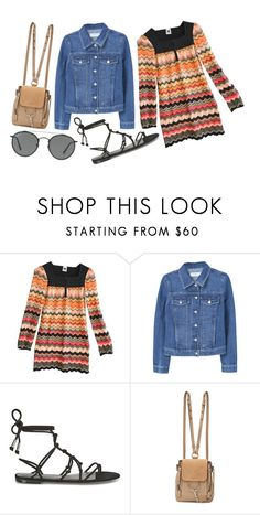 """""""Only good vibes"""" by labellavita-15 ❤ liked on Polyvore featuring Missoni, MANGO, Temperley London, Chloé and Ray-Ban"""
