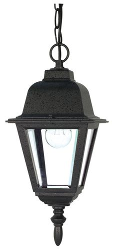 Nuvo Lighting 60/489 Traditional / Classic Single Light Down Lighting Outdoor Pendant from the Briton Collection, 10 in, $38