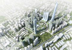 Hanking Nanyou Newtown Urban Planning Design Proposal / Jaeger and Partner Architects