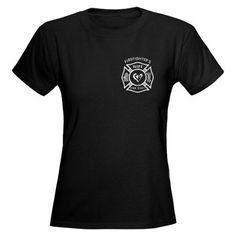 Firefighters Wife T-Shirt  Women's Dark T-Shirt. Need a firefighters daughter