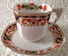 Art Deco Royal Stafford China Tea Cup and by TheEclecticAvenue, $39.99