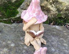 Schüchtern Sie, elf, Fee, Elfe Garten Buch Märchen.