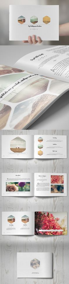 27 New Photoshop Free PSD Files for Designers Design Brochure, Booklet Design, Brochure Layout, Branding Design, Logo Design, Web Design, Layout Design, Magazine Ideas, Magazine Design