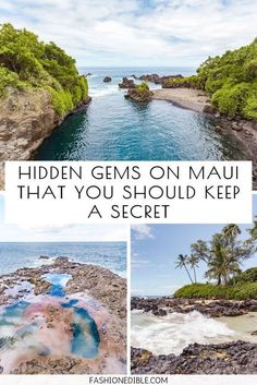 6 Hidden Gems on Maui That You Should Keep a Secret Wondering what the best hidden gems on Maui are? We reveal our 6 favorite secret spots on Maui and include a map to help you get to them! Hawaii Travel Guide, Maui Travel, Travel Usa, Travel Tips, Croatia Travel, Nightlife Travel, Beach Travel, Travel Goals, Italy Travel