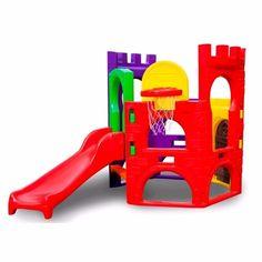 brinquedo playground escorregador parquinho de plástico