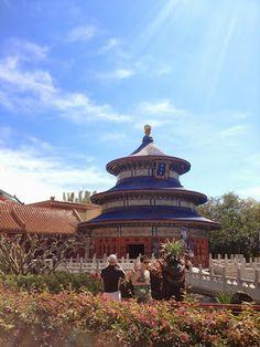 China - Epcot - Walt Disney World
