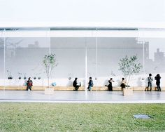 From Tokyo to Hyde Park: seven years of Sanaa architecture | Art and design | The Guardian