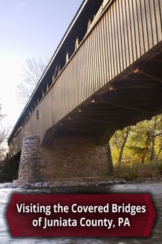 The covered bridges in Juniata County, Pennsylvania are some of the best and the worst in the state. See the entire travel guide to visiting them on UncoveringPA - http://uncoveringpa.com/visiting-covered-bridges-of-juniata-county-pennsylvania