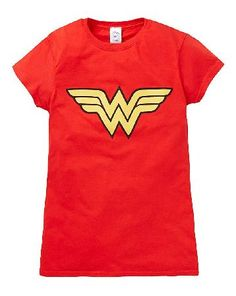 The Brilliant Gift Shop Wonder Woman Logo T-Shirt T-shirt. http://www.MightGet.com/january-2017-13/the-brilliant-gift-shop-wonder-woman-logo-t-shirt.asp