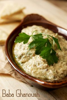 Authentic baba ghanoush recipe #mediterraneanfood #babaghanoush