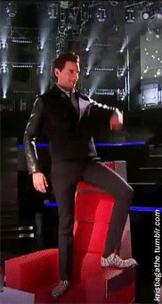 "ANIMATED GIF Mika ""kristiagathe: It's a loooooong story"" - The Voice"