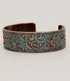 BKE Engraved Bracelet - Women's Jewelry in Patina Engraved Bracelet, Engraved Jewelry, Cuff Bracelets, Bangles, Women's Accessories, Latest Trends, Women Jewelry, Bronze, Stuff To Buy
