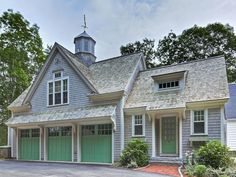 A great carriage house.