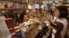 Norbert Wabnig of the Cheese Store of Beverly Hills, places for food lovers in beverly hills