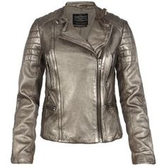 Allsaints metallic colby jacket http://www.steelemystyle.com/2012/06/26/getleathered/