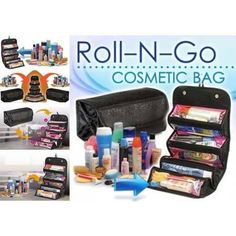 Portable Large Cosmetic Bag (Roll and Go) For Women  #3DaysDelivery #techlaunches #exclusive #buyatwebsite #theimmart #CODINDIA #CallUsNowOn7073244450